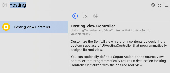 Figure 1.20 – Creating a UIKit ViewController