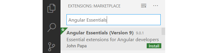 Figure 1.3 – Angular Essentials