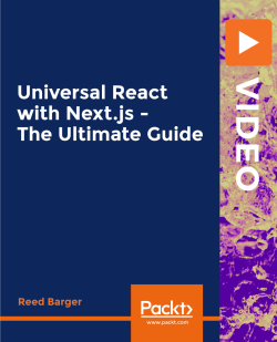 Universal React with Next.js - The Ultimate Guide