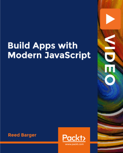 Build Apps with Modern JavaScript [Video]