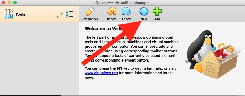 Figure 1.5 – Click New to begin creating your analysis VM