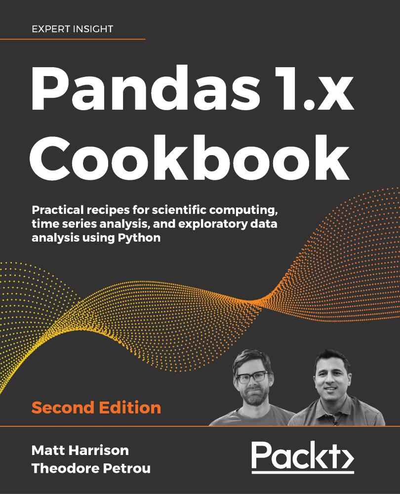 Pandas 1.x Cookbook - Second Edition