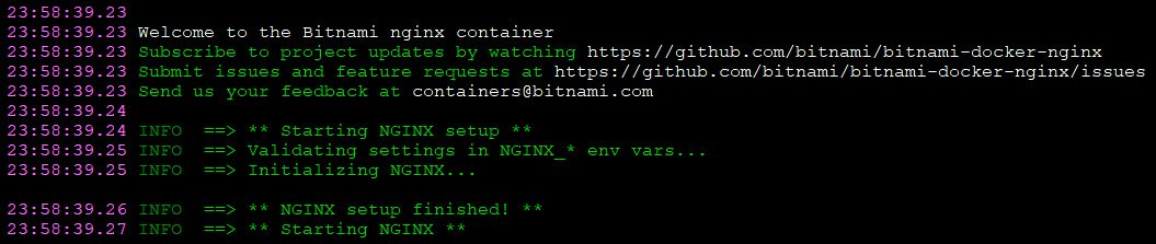 Figure 1.4 – NGINX container startup