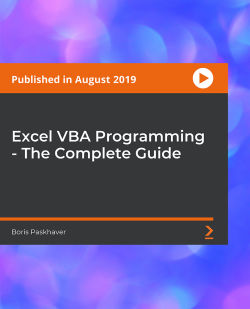 Excel VBA Programming - The Complete Guide [Video]