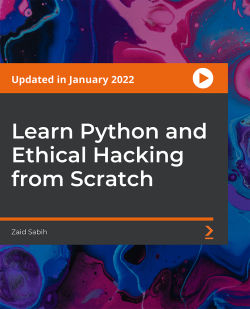 Learn Python and Ethical Hacking from Scratch