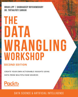 Book cover image for The Data Wrangling Workshop - Second Edition