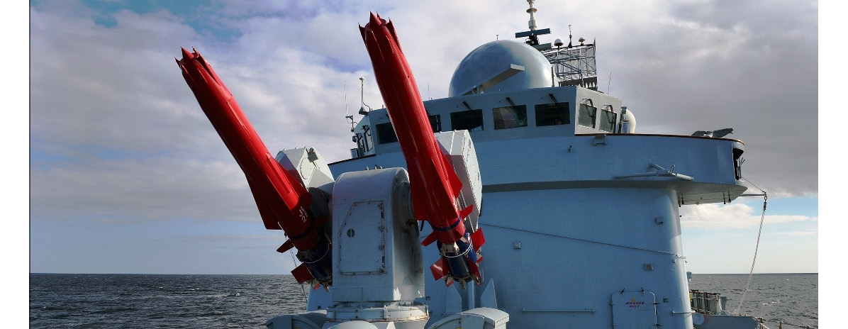 Figure 1.7: Sea Viper missile system