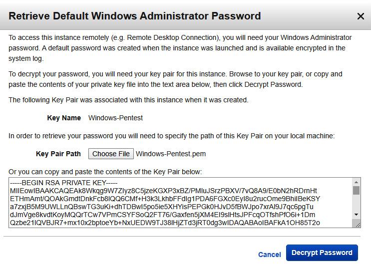 Figure 1.16 – Decrypting Windows passwords