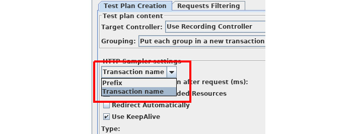 Figure 1.6: Transaction naming strategy
