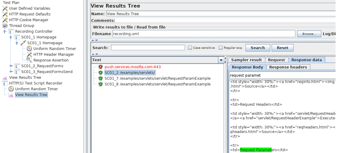 Figure 1.24: Result in Results Tree