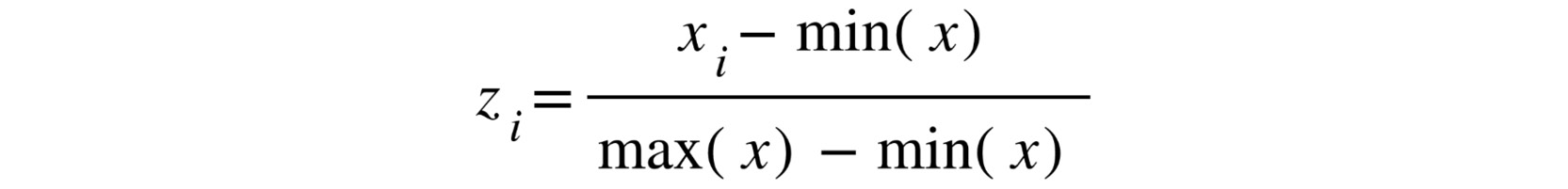 Figure 1.14: The normalization equation