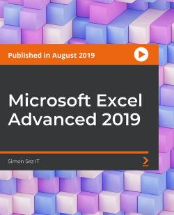 Microsoft Excel Advanced 2019