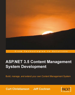 ASP.NET 3.5 CMS Development