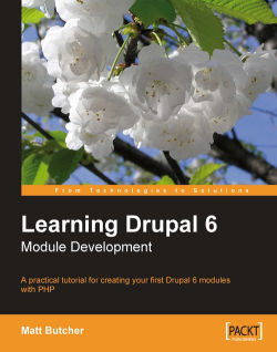 Learning Drupal 6 Module Development