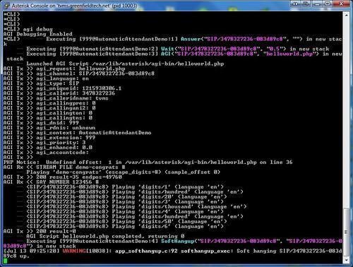 AGI debugging - Asterisk Gateway Interface 1 4 and 1 6 Programming