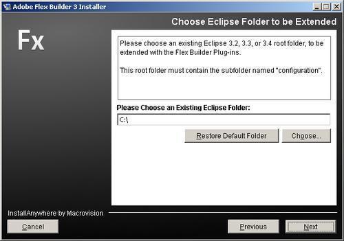 Installing Flex Builder 3 - Flex 3 with Java