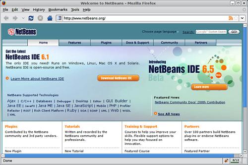 Downloading NetBeans - Java EE 5 Development with NetBeans 6