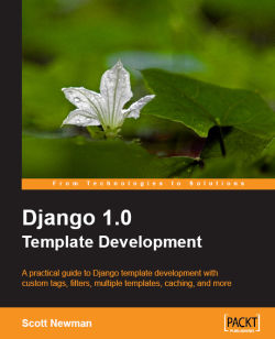 Django 1.0 Template Development