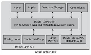 Data Pump architecture - Oracle 10g/11g Data and Database