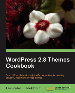 WordPress 2.8 Themes Cookbook
