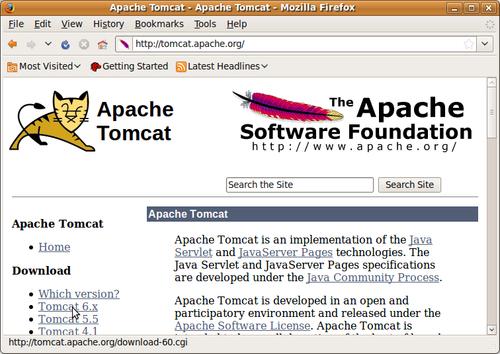APACHE TOMCAT 6.0.18 TÉLÉCHARGER