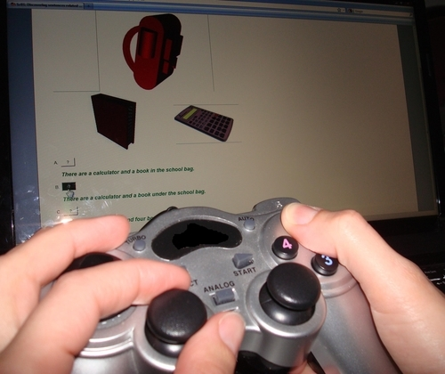 Time for action - using a gamepad to solve the exercise
