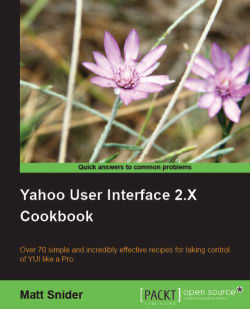 Yahoo User Interface Library 2.x Cookbook