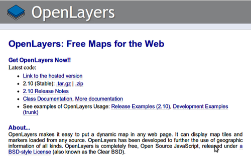 openlayers 2.10 beginners guide