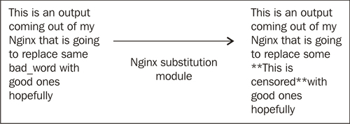 Replacing and searching text in Nginx response - Nginx 1 Web