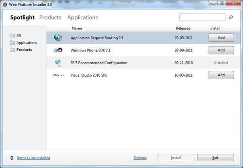 Running web2py with IIS as a proxy - web2py Application