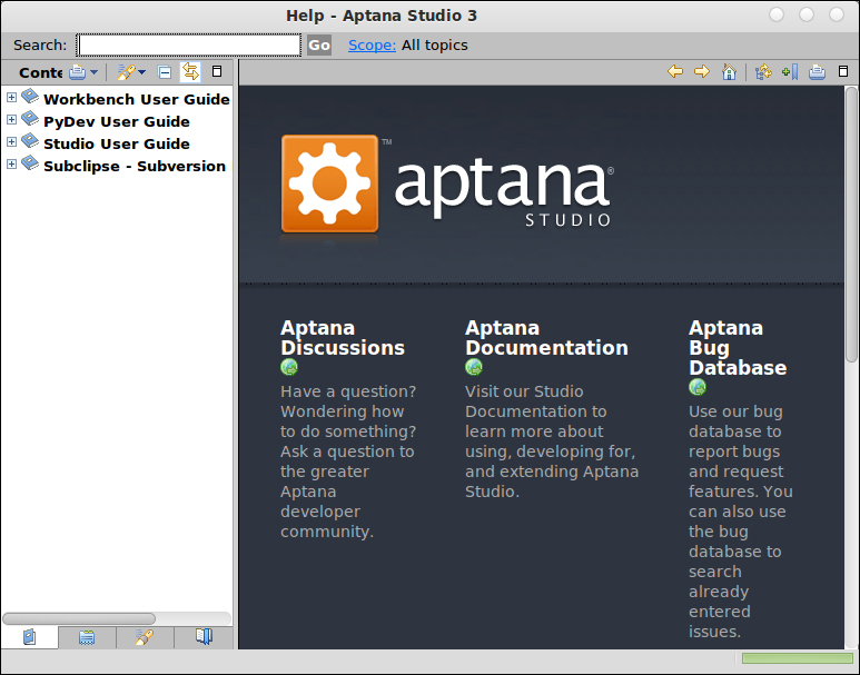 What to do when problems occur - Aptana Studio Beginner's Guide
