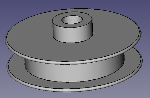 Rotating and extruding to create parts (Should know) - FreeCAD
