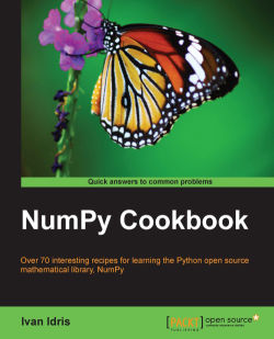 Creating a masked array - NumPy Cookbook