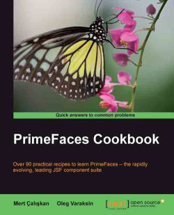 Selecting rows in dataTable - PrimeFaces Cookbook