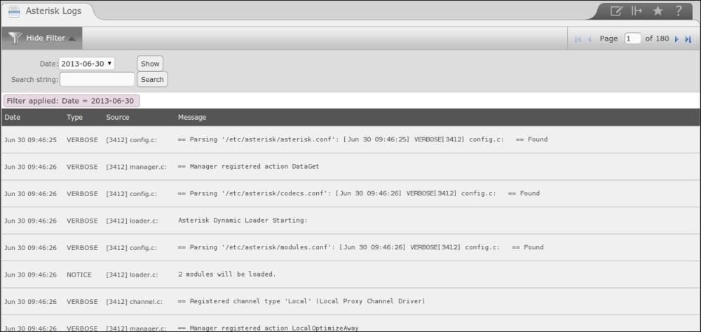 Debugging Asterisk - Elastix Unified Communications Server