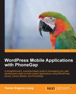 WordPress Mobile Applications with PhoneGap
