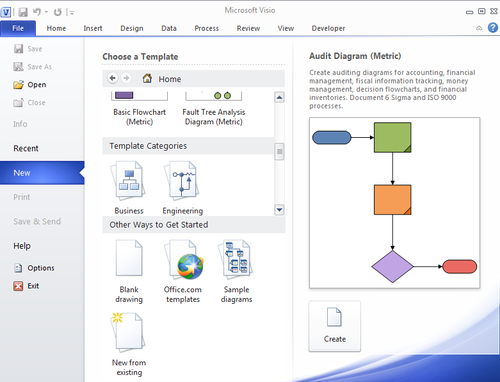 Overview of the Visio categories and templates - Microsoft