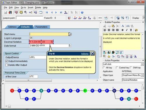 Understanding the Topic Editor screen - Oracle User