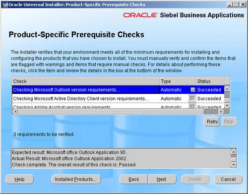Installing the Siebel Developer Web Client - Oracle Siebel