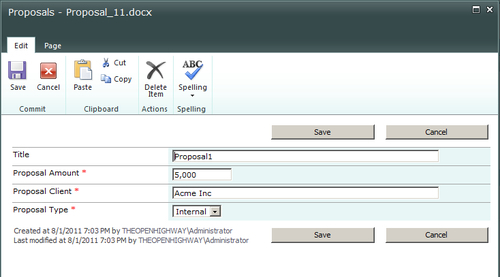 Creating List Forms with SharePoint Designer - Microsoft SharePoint