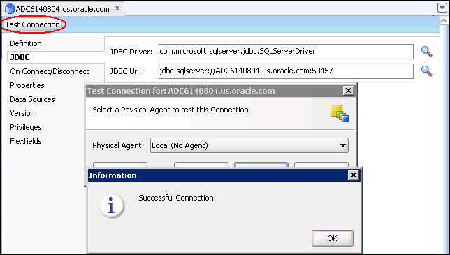 Deploying JDBC drivers with a JEE ODI Agent - Oracle Data