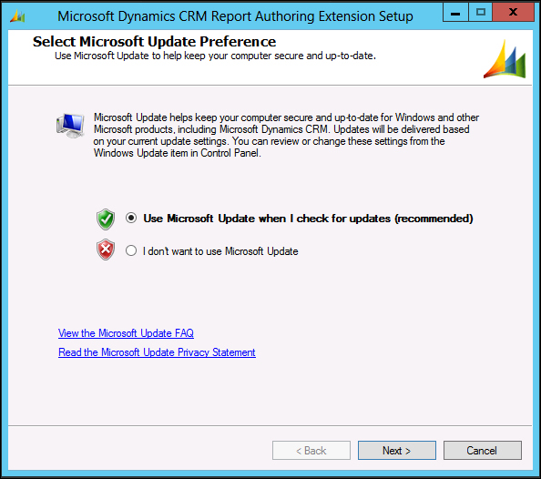 Installation and configuration of Report Authoring Extension (Visual