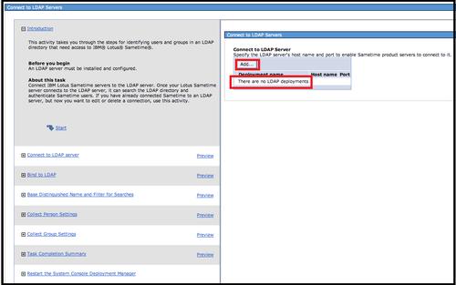 Configuring LDAP - IBM Sametime 8 5 2 Administration Guide