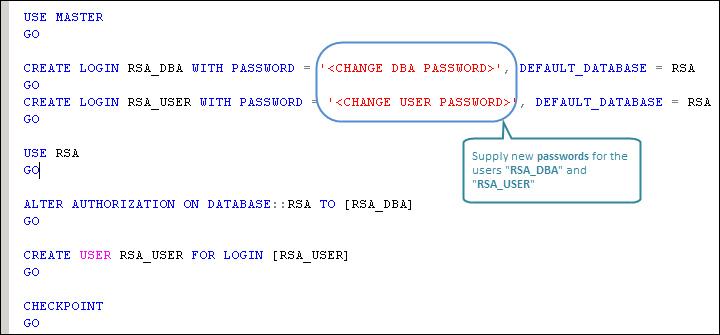 Creating DB users for the SSO database - VMware vSphere 5 1 Cookbook