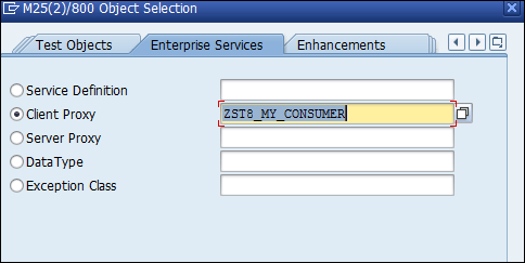 Consuming a Web service - SAP ABAP Advanced Cookbook