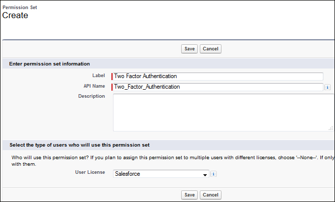 Two-factor authentication in Salesforce - Salesforce com