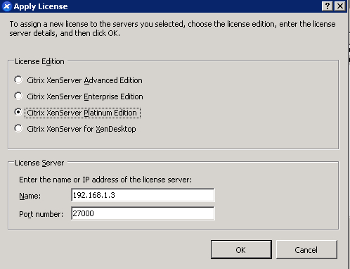 Licensing XenServer - Citrix XenServer 6 0 Administration Essential