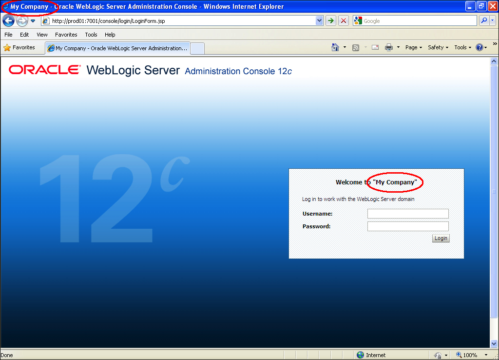 Extending and customizing the Administration Console