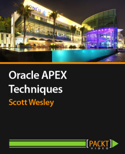 Oracle APEX Techniques cover