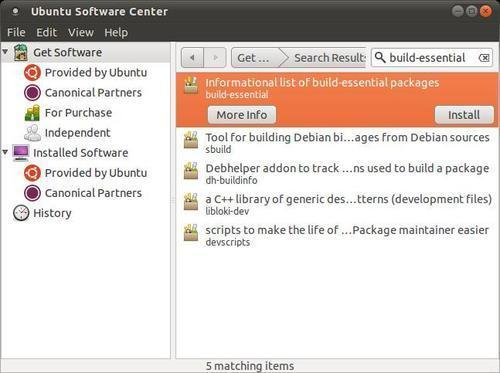 Time for action – preparing Ubuntu Linux for Android development
